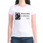 Oscar Wilde 12 Jr. Ringer T-Shirt