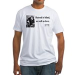 Oscar Wilde 12 Fitted T-Shirt