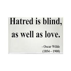 Oscar Wilde 12 Rectangle Magnet