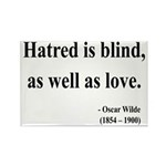 Oscar Wilde 12 Rectangle Magnet (100 pack)