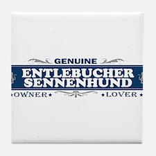 ENTLEBUCHER SENNENHUND Tile Coaster