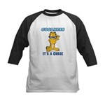 Cool Garfield Kids Baseball Jersey