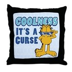 Cool Garfield Throw Pillow