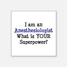 """anesthesiologist Square Sticker 3"""" x 3"""""""