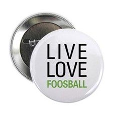 """Live Love Foosball 2.25"""" Button (100 pack)"""