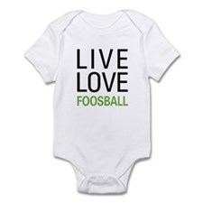 Live Love Foosball Infant Bodysuit