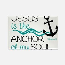 Jesus is the Anchor Magnets