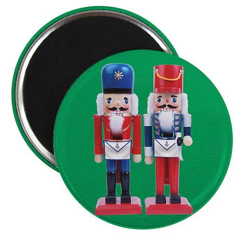 "Happy Masons Nutcrackers 2.25"" Magnet (10 pack)"