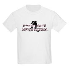Colorado Hockey Grandma T-Shirt