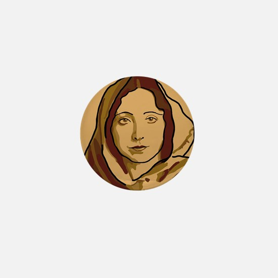 Anaïs Nin Mini Button