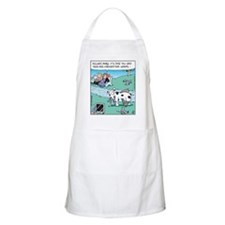 Dog Worm Check BBQ Apron
