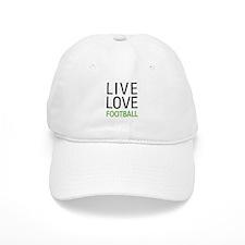 Live Love Football Baseball Cap
