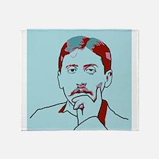 Marcel Proust Throw Blanket