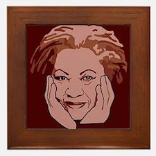 Toni Morrison Framed Tile