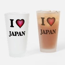 I Love Japan Drinking Glass