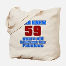 Who Knew 59 Years Old Could Look This Fab Tote Bag