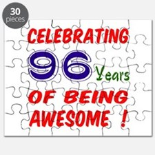 Celebrating 96 years of being awesome ! Puzzle