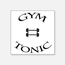 Gym equals tonic Sticker