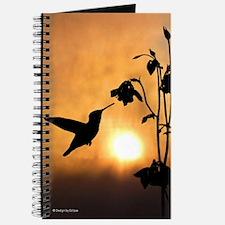 Hummingbird Silhouette Journal