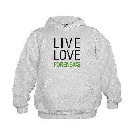 Live Love Forensics Kids Hoodie
