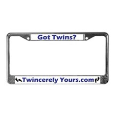 Got Twins? License Plate Frame