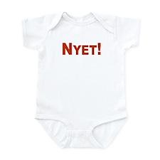 Nyet! (Net) Infant Bodysuit