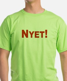 Nyet! (Net) T-Shirt