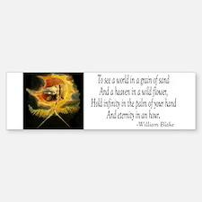 William Blake Bumper Bumper Bumper Sticker