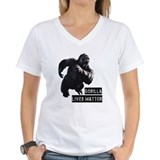 Harambe Womens V-Neck T-shirts