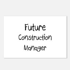 Future Construction Manager Postcards (Package of