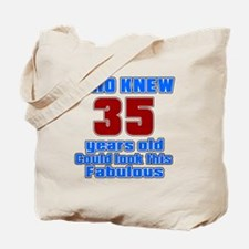 Who Knew 35 Years Old Could Look This Fab Tote Bag