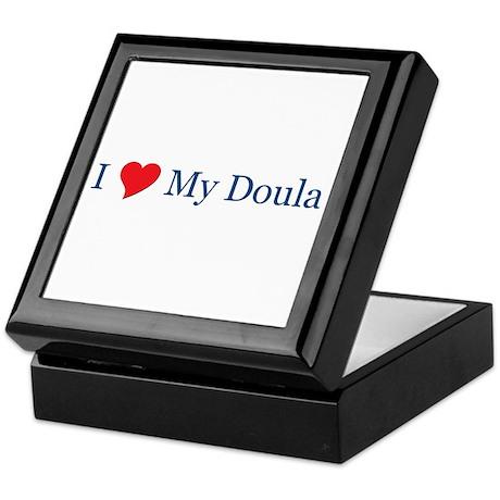 I Love My Doula Keepsake Box
