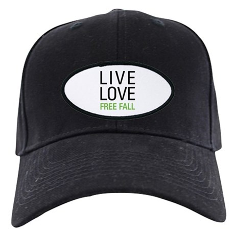 Live Love Free Fall Black Cap