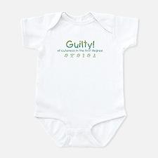 Guilty! Infant Bodysuit