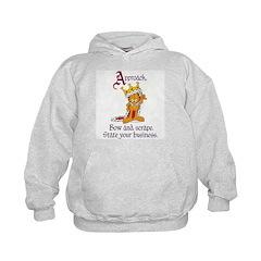 King Garfield Hoodie