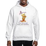 King Garfield Hooded Sweatshirt