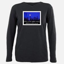 Unique Girl camping Plus Size Long Sleeve Tee