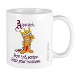 King Garfield Mug