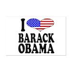 I Love Barack Obama Mini Poster Print
