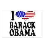 I Love Barack Obama Postcards (Package of 8)