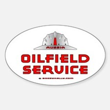 Russia Oilfield Service Oval Decal