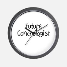Future Conchologist Wall Clock