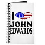 I Love John Edwards Journal