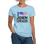 I Love John Edwards Women's Light T-Shirt