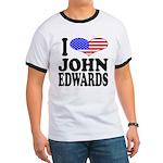 I Love John Edwards Ringer T