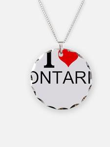 I Love Ontario Necklace
