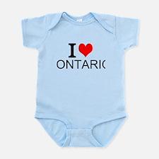 I Love Ontario Body Suit