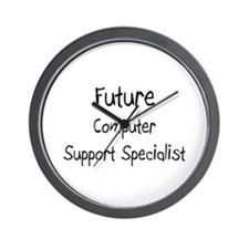 Future Computer Support Specialist Wall Clock