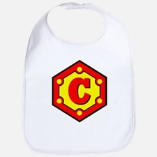 Super C Logo Costume 10 Bib