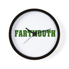 FARTMOUTH Wall Clock